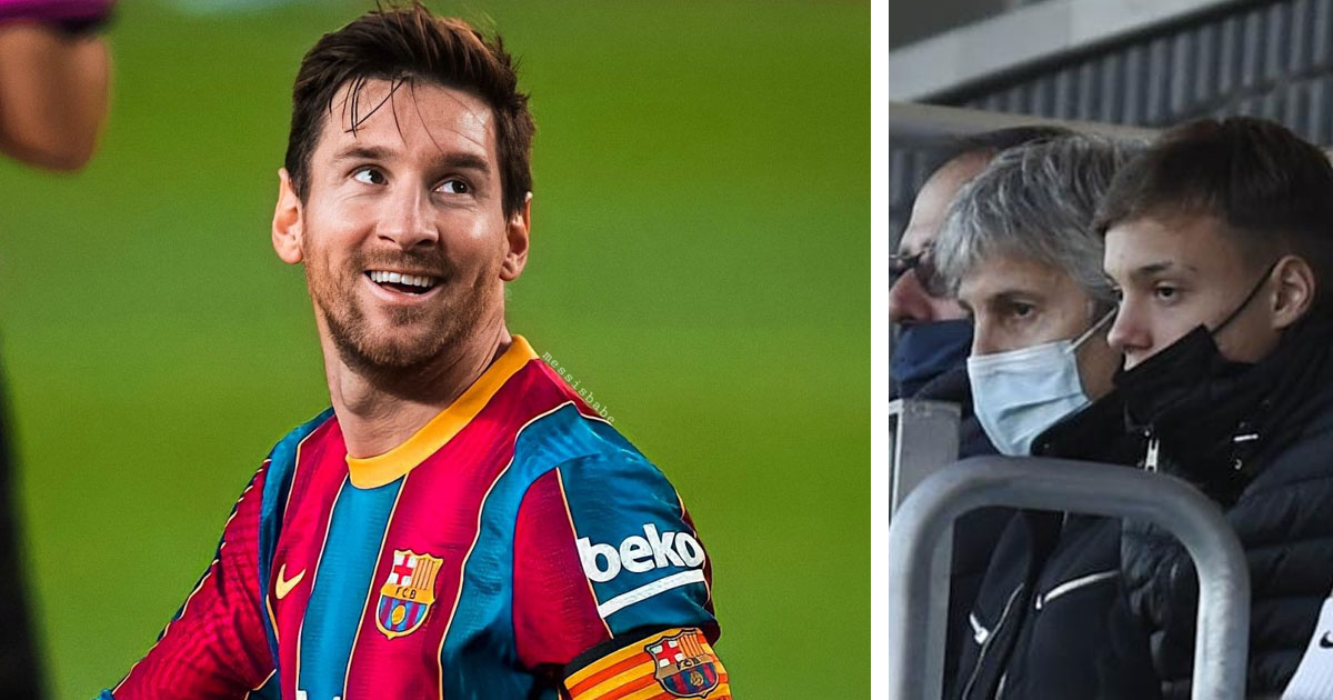 Messi's father spotted in Barcelona, set to meet with club over extension talks soon (reliability: 5 stars)