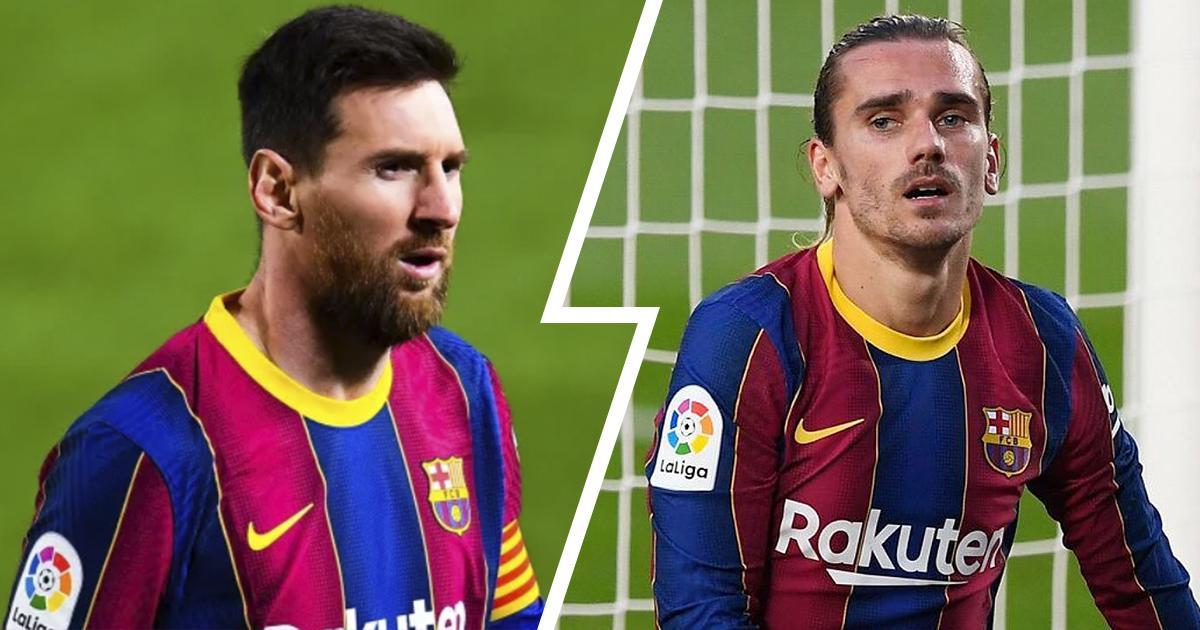 ميسي 6 ، جريزمان 3 : تقييمات لاعبي برشلونة في فوز ريال بلد الوليد