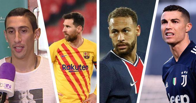 Messi, Ronaldo or Neymar? Angel Di Maria names his best-ever teammate - logo