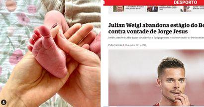 Julian Weigl wird Papa: Medien suchen nach Skandal und werfen ihm das Verlassen des Trainingslagers vor