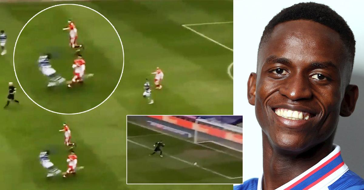 Semedo hat seinen Gegner so hart angegriffen, dass er versehentlich einen Treffer markiert hat