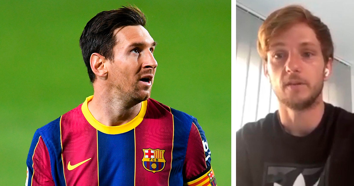 Messi will never know how much it meant to me to play with him: Ex Barca player Rakitic