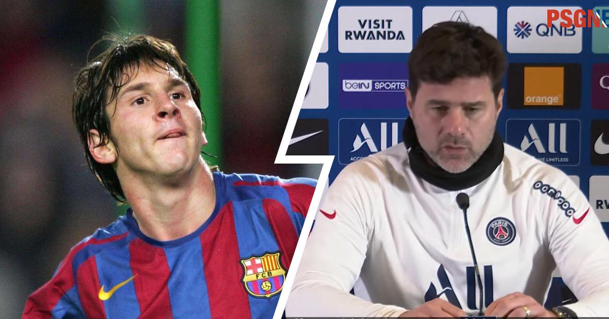 Messi a déjà failli se faire prêter à l'Espanyol: Mauricio Pochettino