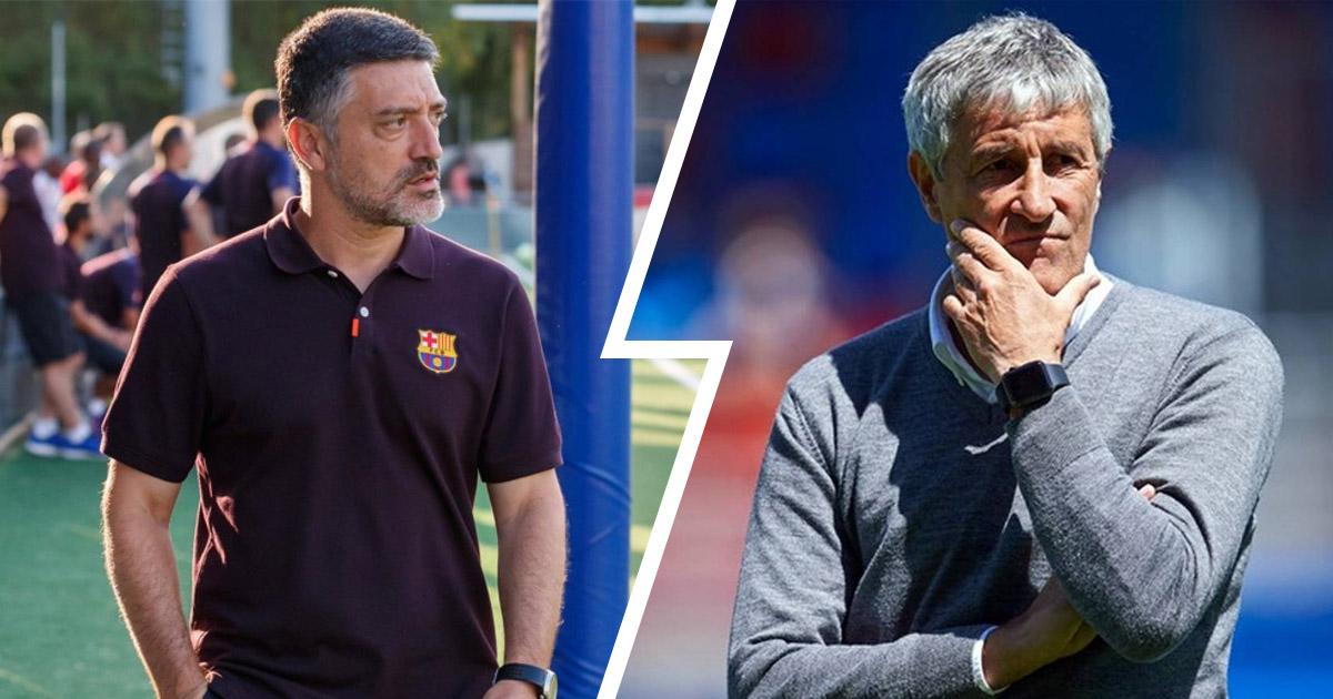 Barca B coach Pimienta could replace Setien for Champions League ...