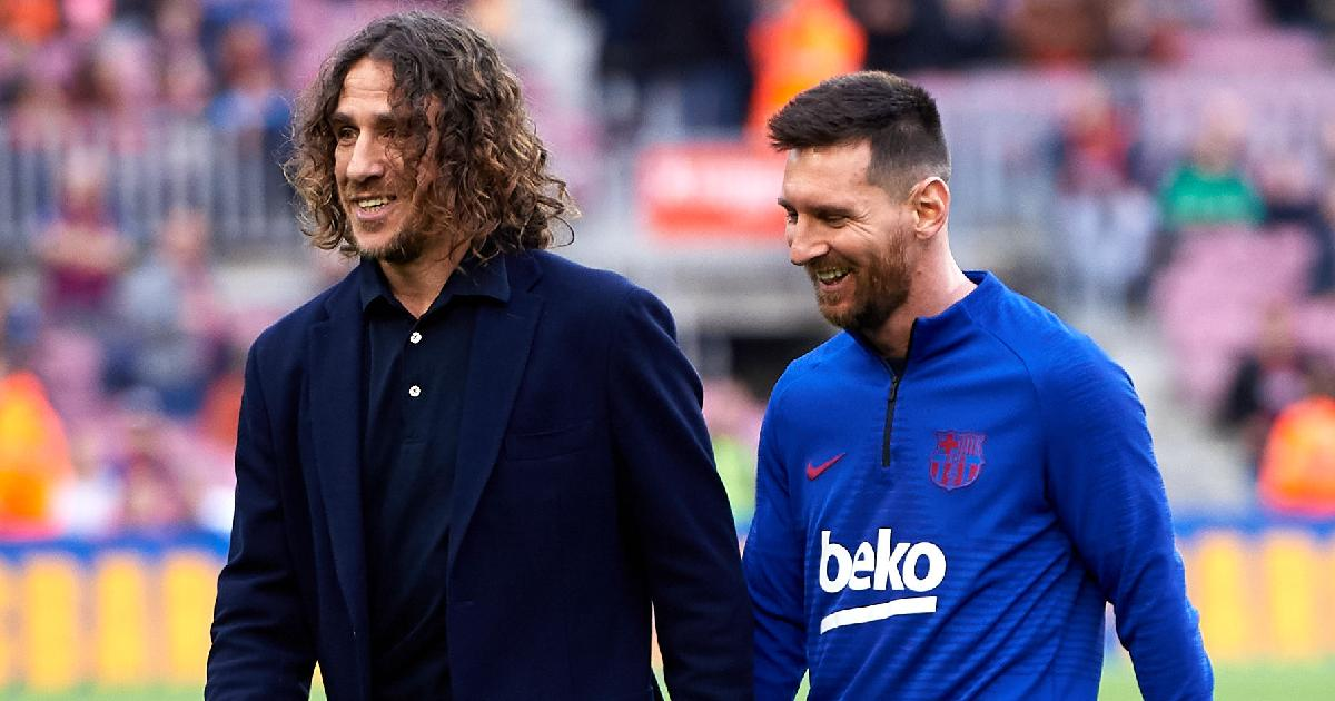 Barcelona legend Puyol all-but-confirms Messi is leaving with tribute on social media