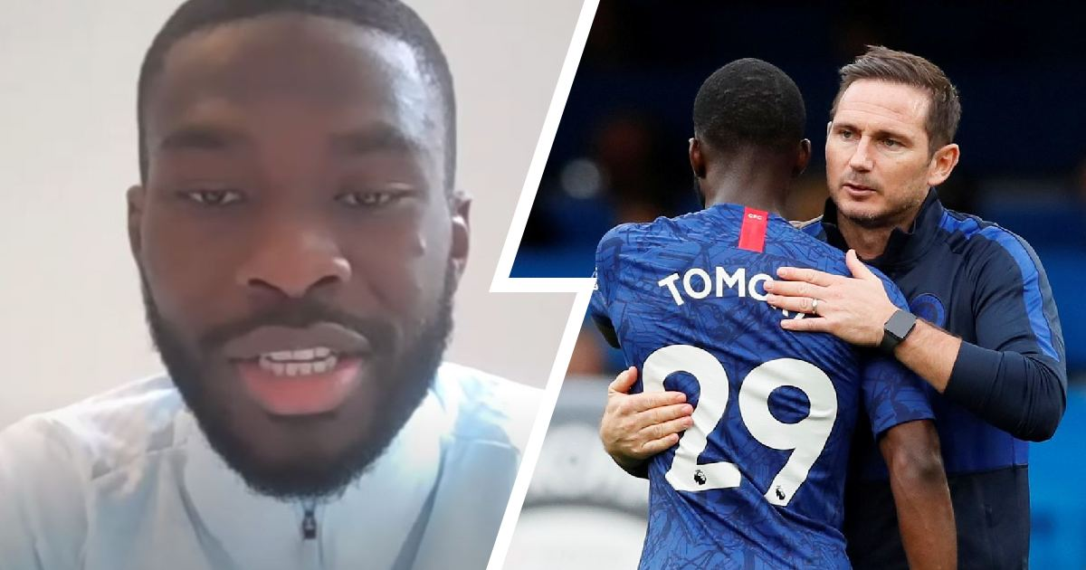 Fikayo Tomori discusses choosing to stay at Chelsea, breaking Diego Costa's nose & more (video)