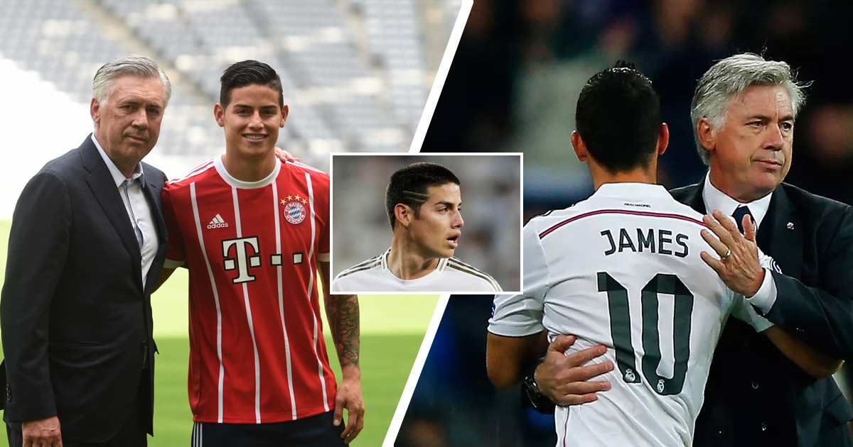 It might be the perfect fit for both': James Rodriguez tipped for Carlo  Ancelotti reunion at Everton