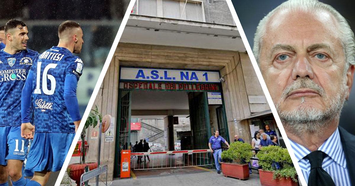 L'ASL di Napoli ne combina un'altra: bloccati 5 tesserati dell'Empoli, nonostante fossero negativi al Covid-19