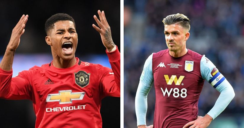 Rashford confirms he will miss England duties due to injury, Grealish to replace him - logo