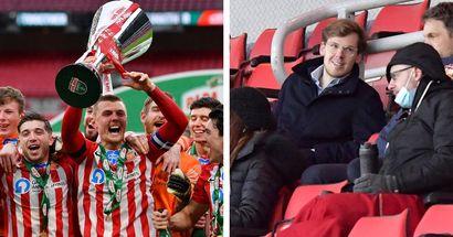 Sunderland remporte un trophée sous la présidence de Kyril Louis-Dreyfus