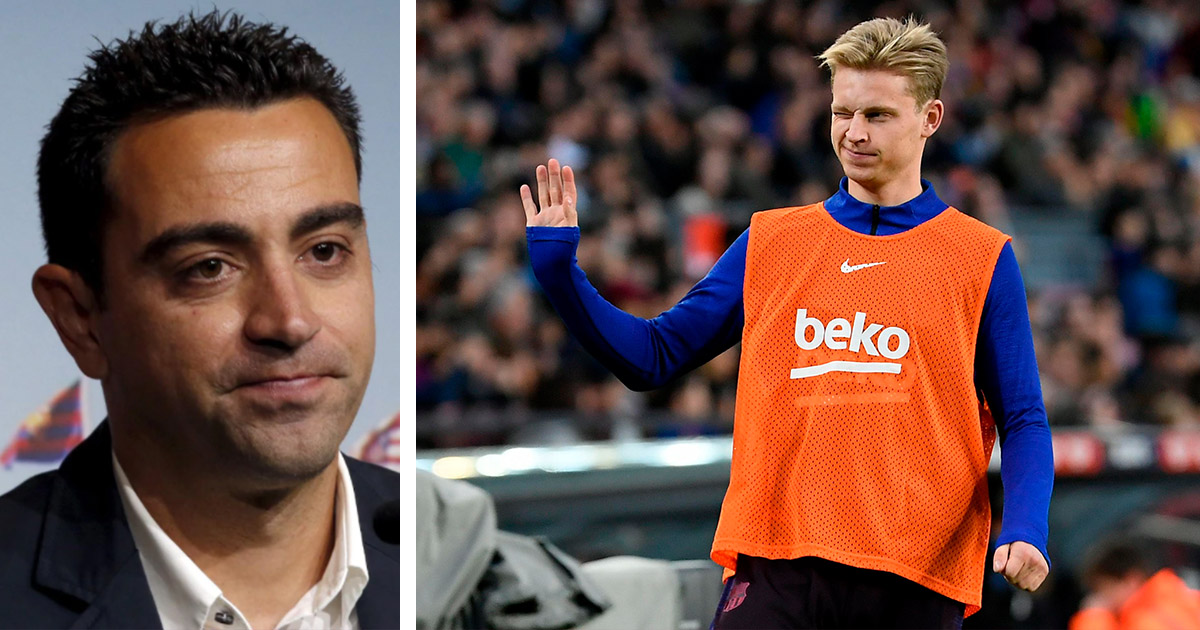 Xavi explains why it's normal for De Jong to struggle at Barca