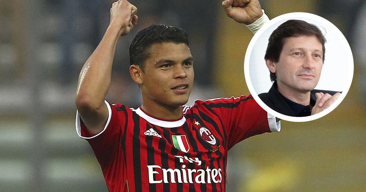 """""""J'ai été son plus grand admirateur tout au long de sa carrière"""", Leonardo revient sur le cas de Thiago Silva"""