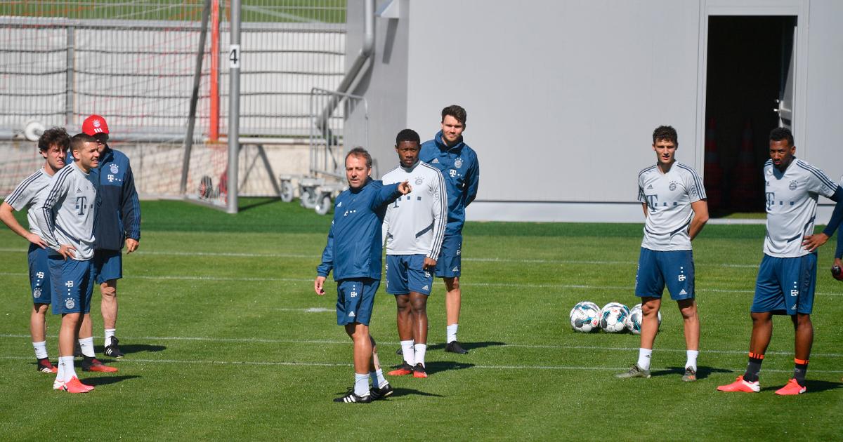 """Hansi Flick verlässt sich weiter auf Alaba & Boateng: """"Hernandez ..."""