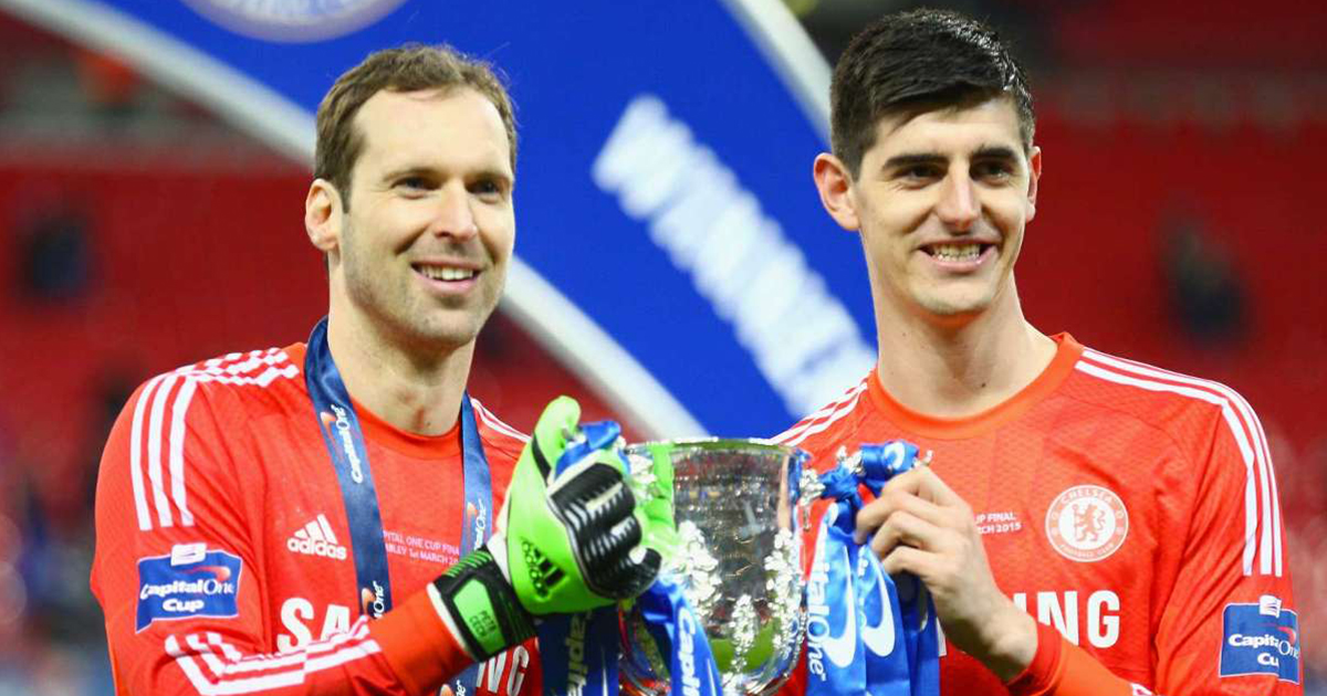 Courtois' father: 'Petr received Thibaut very well. He was a great team-mate who he could always count on'