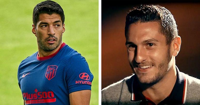 """""""Il nous va comme un gant"""": Koke juge que Luis Suarez apporte un """"changement radical"""" au jeu de l'Atletico - logo"""