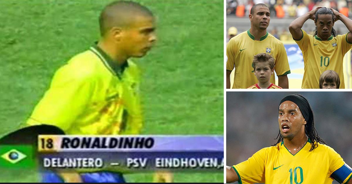Ronaldo s'appelait autrefois Ronaldinho - tout cela à cause d'un défenseur central de Sao Paulo