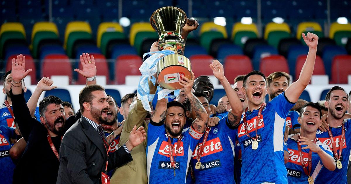 UFFICIALE | La Coppa Italia del Napoli riparte dagli ottavi di finale: possibile Derby contro il Benevento all'esordio