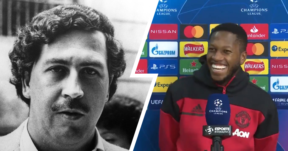 'Someone said he looks like Escobar': Fred sees a familiar face during post-Leipzig interview