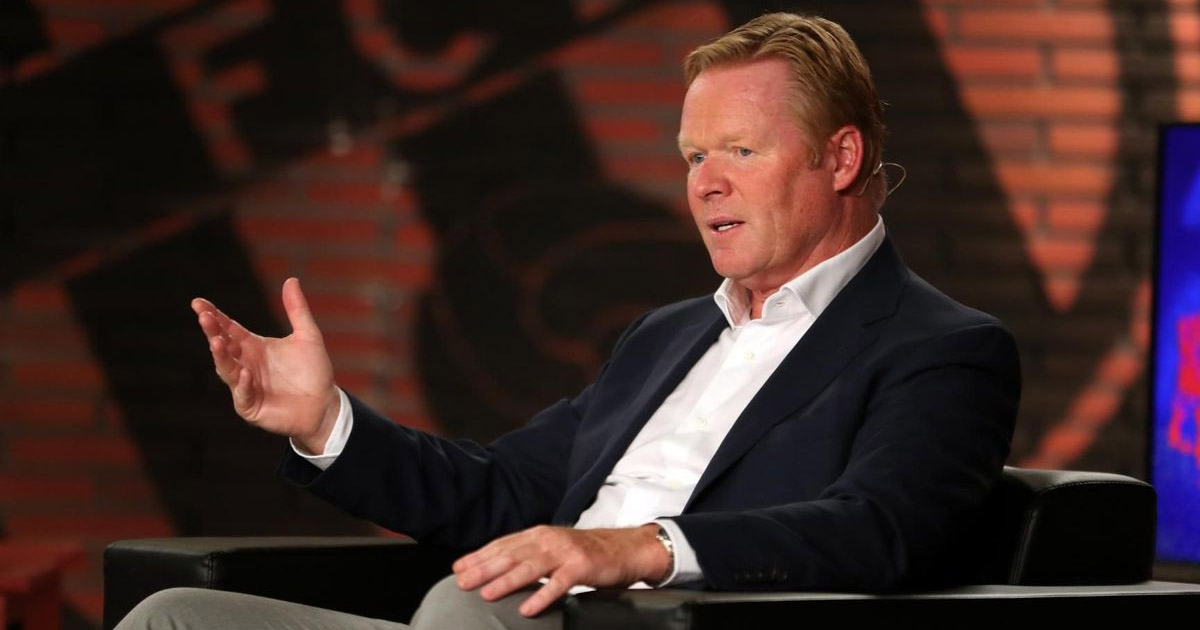 New barca manager Koeman confirms the rumours that he has talked to some players to clear the air'