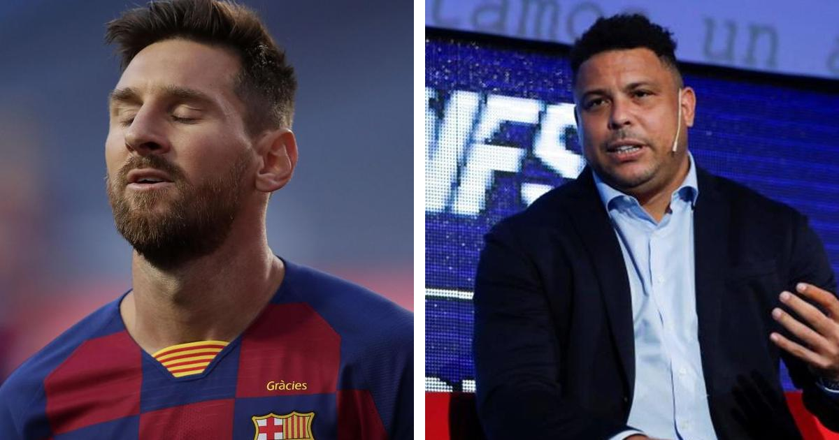 Ronaldo doubts Messi could leave Barcelona: Leo is the reference of Barca